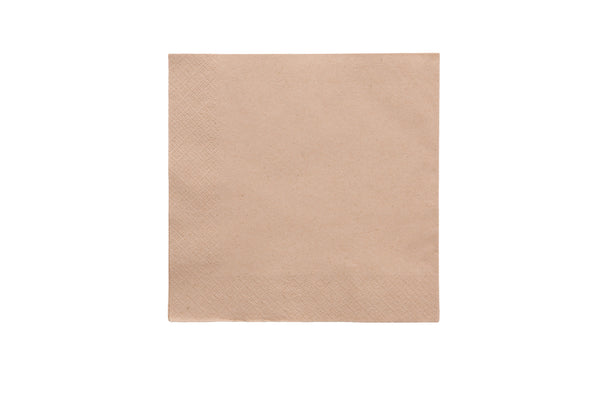 2-Ply Unbleached Napkin - 15.75 inch - Green Valley Packaging