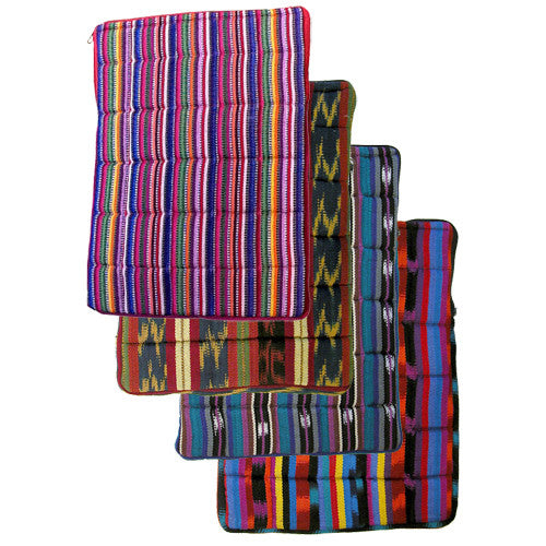 Cotton Laptop Sleeve from Guatemala - Green Valley Packaging