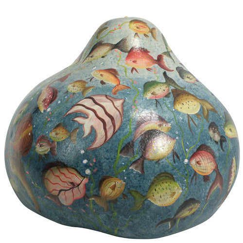 Giant Decorative Gourd Aquarium from Peru - Green Valley Packaging