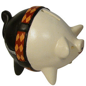 Muchacho Piggy Bank from Peru - Green Valley Packaging
