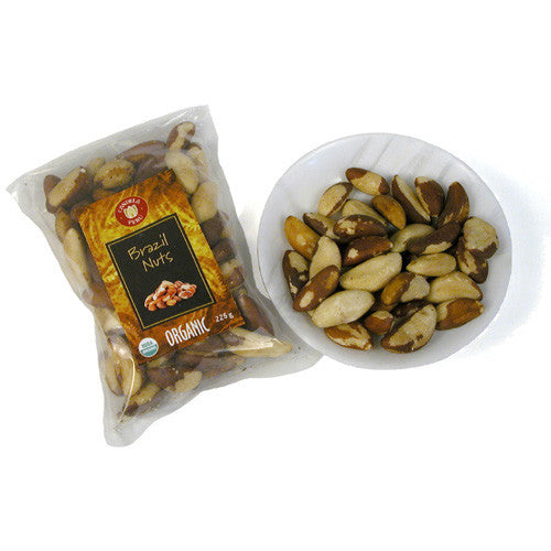 Roasted Organic Brazil Nuts from Peru