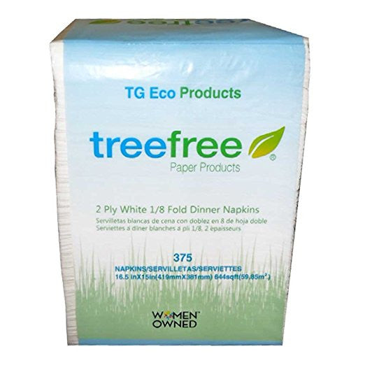 Green2 Tree Free Dinner Napkins 3000 ct - Green Valley Packaging