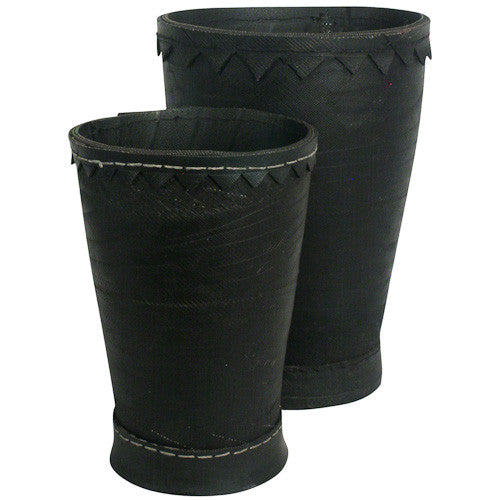 Recycled Tire Pots from India