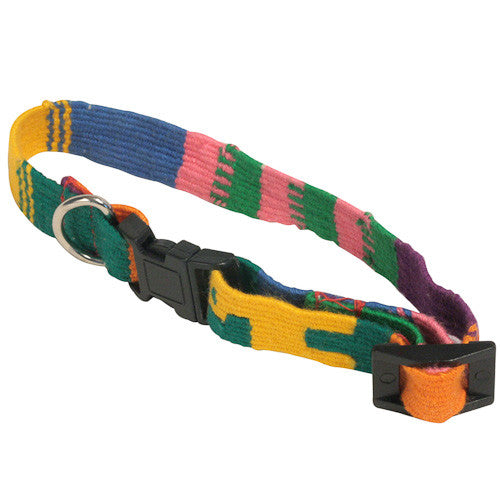 Cat Collar-Rainbow from Guatemala - Green Valley Packaging