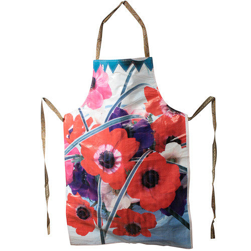 Assorted Flower Print Aprons from India - Green Valley Packaging
