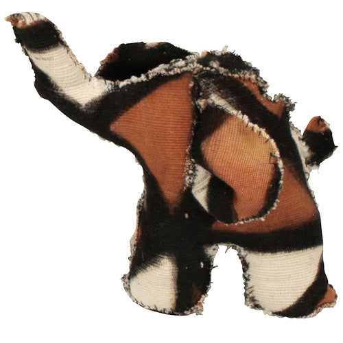 Mud Cloth Elephant from Mali - Green Valley Packaging
