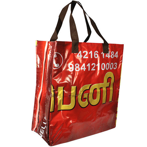 Extra Large Shopping Bag from India - Green Valley Packaging