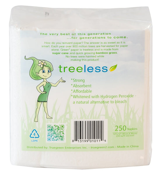 Green2 Tree Free Lunch Napkins 4000 ct - Green Valley Packaging