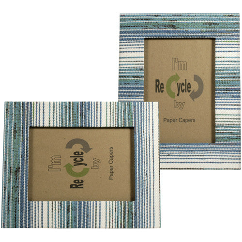 Blue and White Photo Frames from the Philippines - Green Valley Packaging