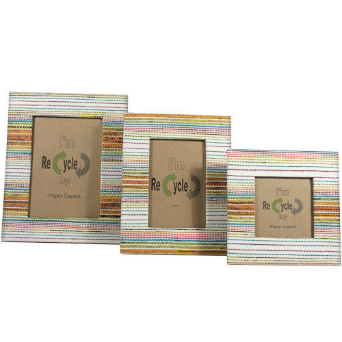 Light Multicolor Photo Frames from the Philippines - Green Valley Packaging