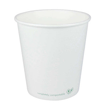 10 oz Hot Cup - fully compostable and lined with PLA corn based plastic