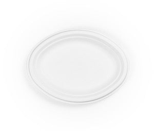 "10"" Bagasse Oval Plate"