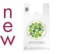 Medium Compostable Carrier Bag