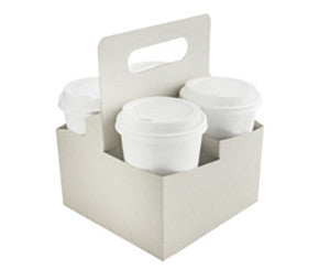 Four Cup Carry Tray