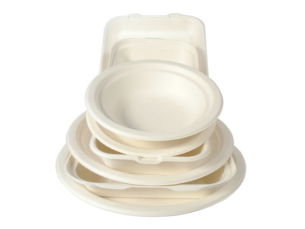 Large Bagasse Bowl - Green Valley Packaging