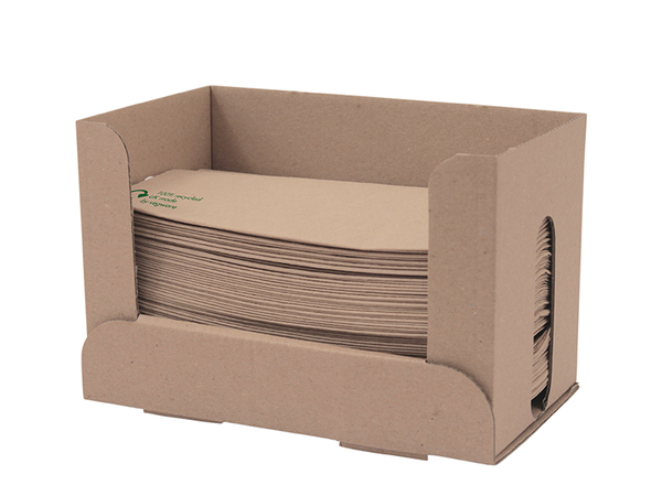 1-Ply Unbleached Napkin For Dispenser - recycled fibre - Green Valley Packaging