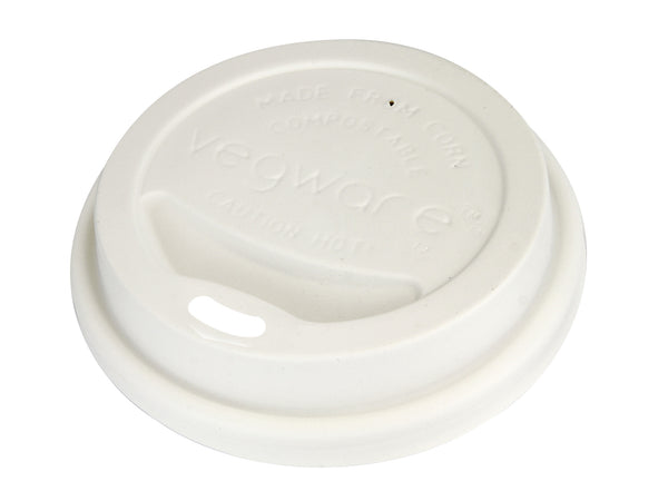 Hot Cup Lid - 10 thru 20 oz - Green Valley Packaging