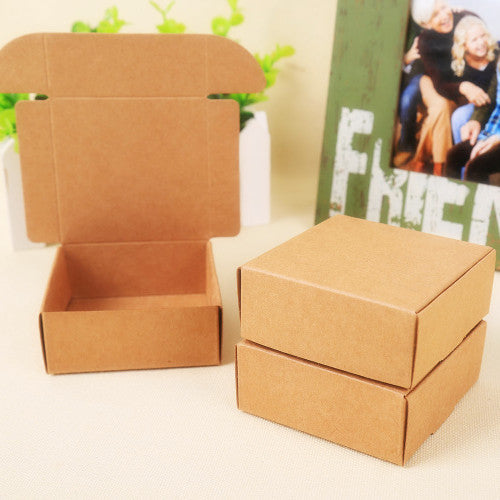 Natural Kraft Paper Gift Box - Available in 28 Sizes! - Green Valley Packaging