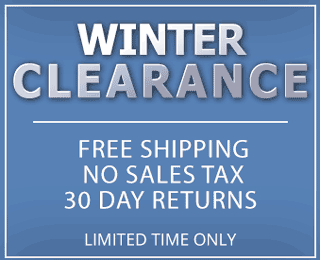 Winter Clearance Sale Banner