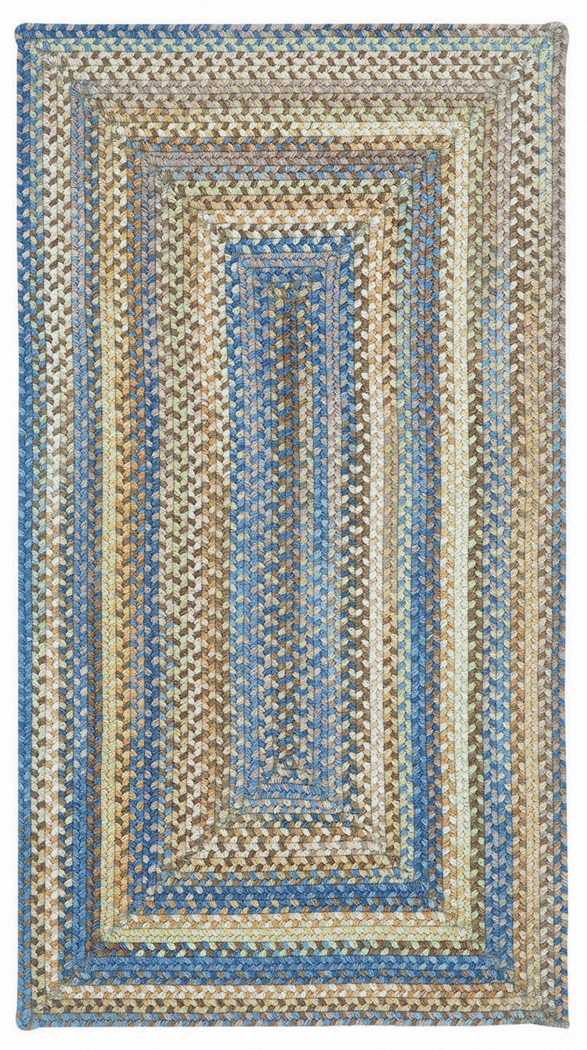 Capel Kill Devil Hill 0210 Light Blue 410 Area Rug main image