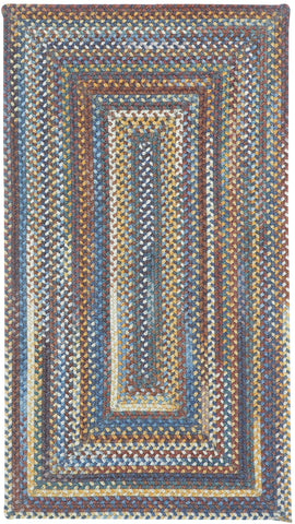 Capel Kill Devil Hill 0210 Medium Blue 450 Area Rug main image