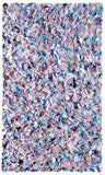 Rug Market America Kids Shaggy Raggy Multi Blue/Yellow/Pink/Lavender Area main image