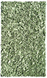 Rug Market America Kids Shaggy Raggy Sage Green Area main image