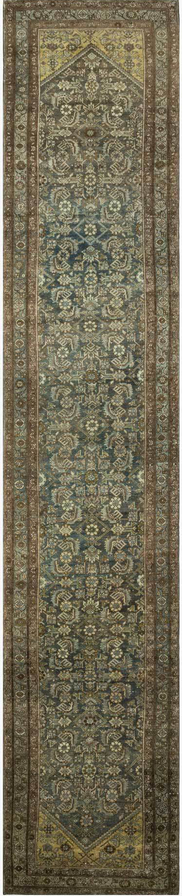 Loloi Turkish Hand Knots One of a Kind Navy/Mocha Area Rug main image
