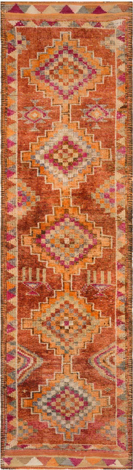 Loloi Turkish Hand Knots One of a Kind Rust/Sunset Area Rug main image