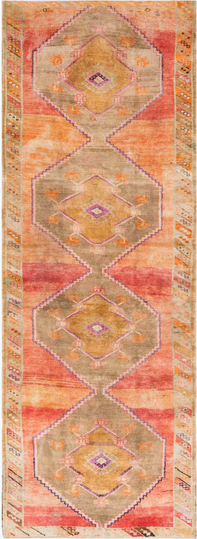 Loloi Turkish Hand Knots One of a Kind Cream/Multi Area Rug main image