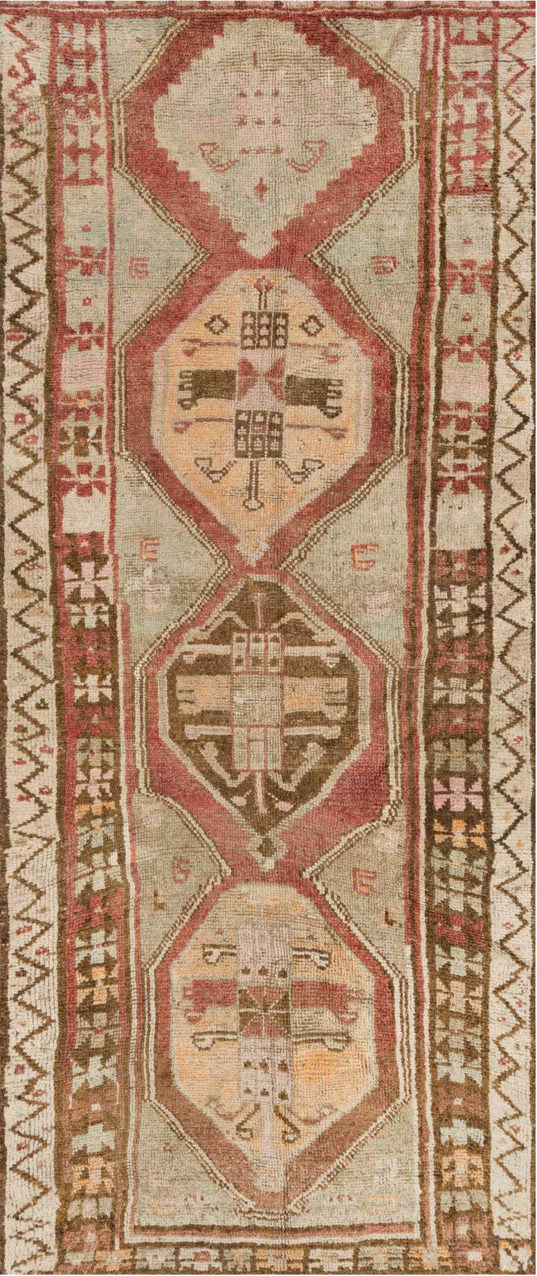 Loloi Turkish Hand Knots One of a Kind Red/Brown Area Rug main image