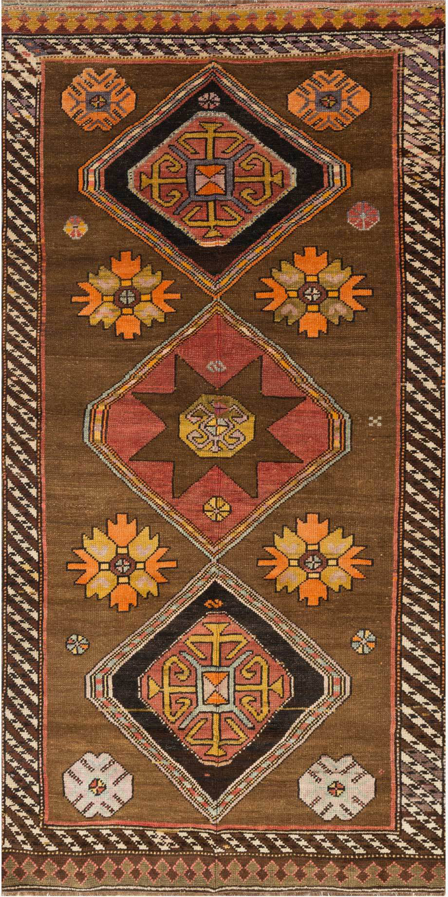 Loloi Turkish Hand Knots One of a Kind Brown Area Rug main image