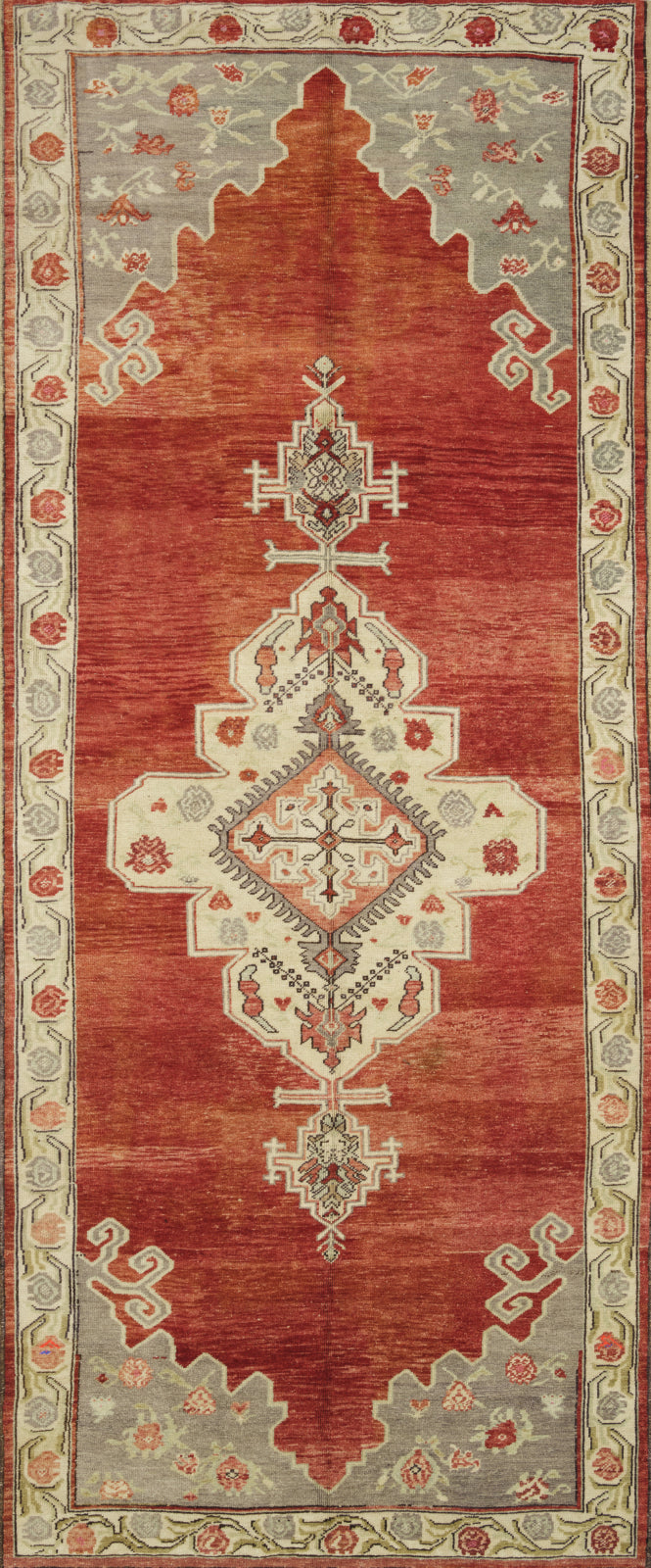 Loloi Turkish Hand Knots One of a Kind Red/Teal Area Rug main image