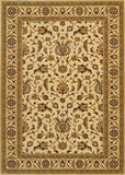 Couristan Royal Luxury Brentwood Linen/Beige Area Rug