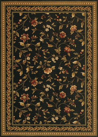 Couristan Royal Luxury Winslow Ebony Area Rug