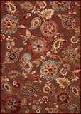 Couristan Cire` Marlow Quartz/Ruby Area Rug