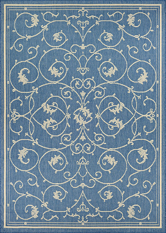 Couristan Recife Veranda Champ/Blue Area Rug main image