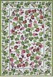 Rug Market America CO Grape Vines Green/White Area 7' 6'' X 9' 6''
