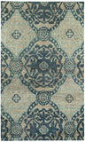 Capel Round About Ring Leader 1689 Blueberry 400 Area Rug main image