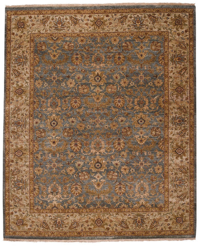 Capel Boca Park Mahal 1774 Medium Blue/Beige 425 Area Rug main image