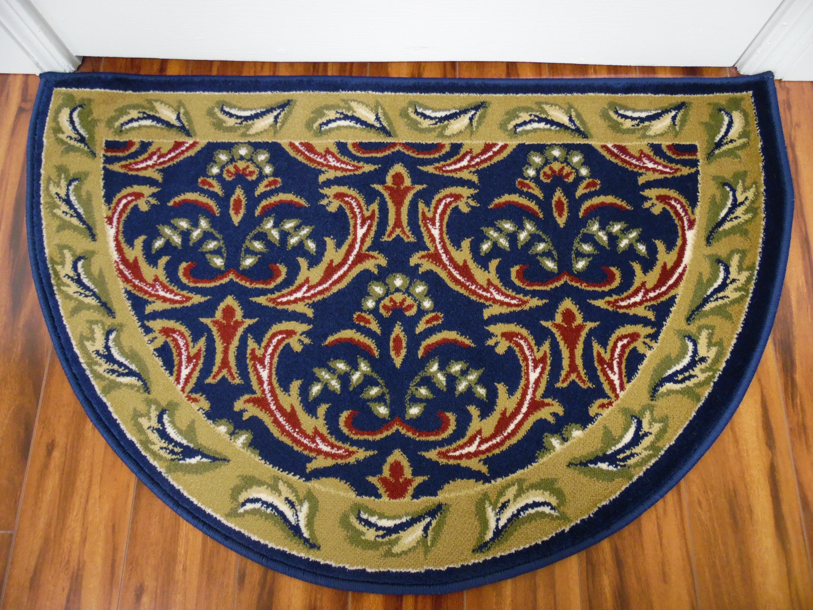 Art Carpet Hearth 1865 Navy/Light Green Area Rug