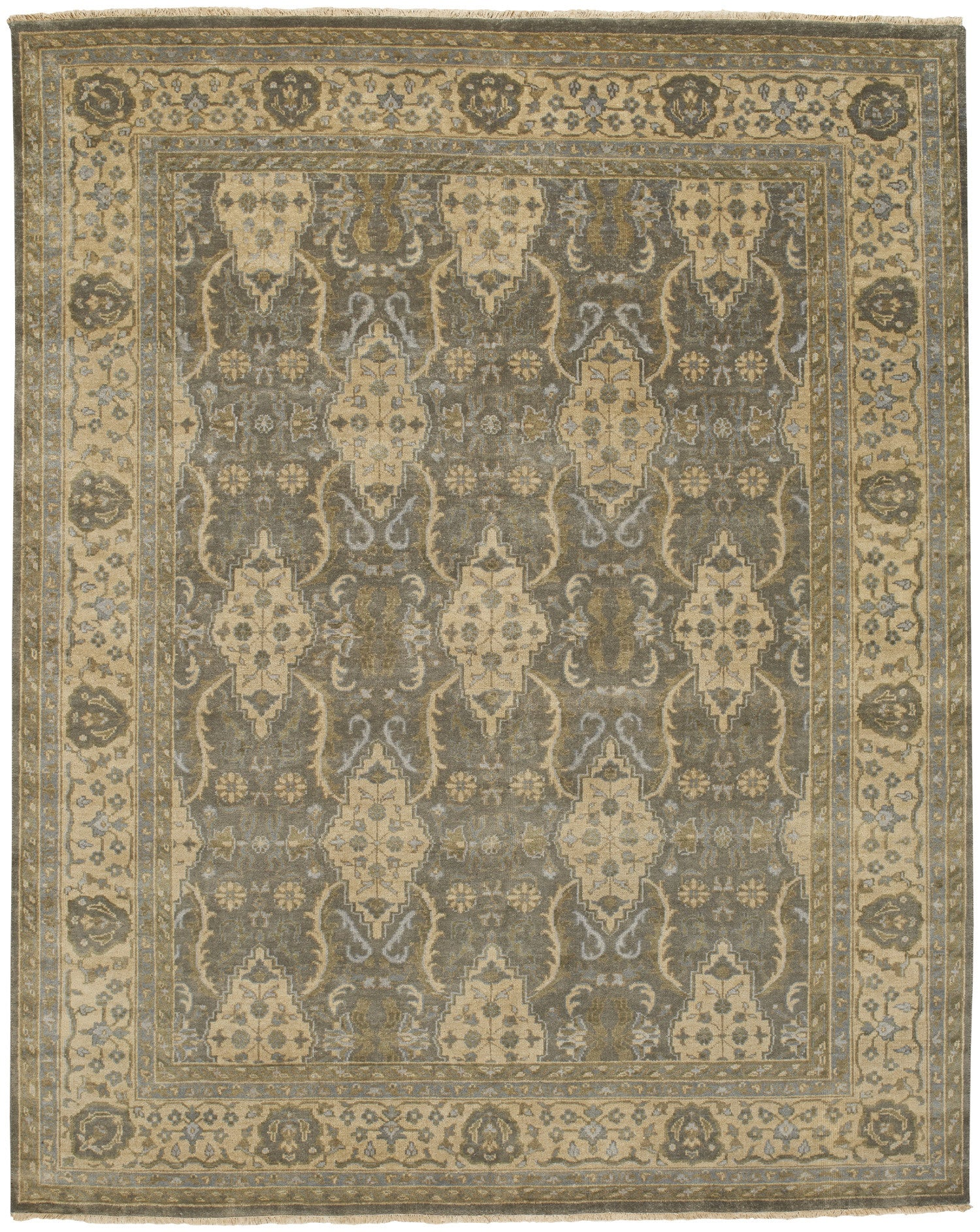 Capel Brandon 1908 Pewter Cream 300 Area Rug main image