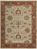 Capel Brandon 1908 Cream Red 650 Area Rug main image
