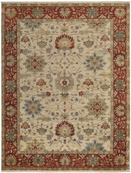Capel Brandon 1908 Cream Red 650 Area Rug Incredible Rugs And Decor