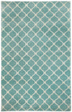 Capel Picket 1928 Pale Blue Cream 400 Area Rug by COCOCOZY Rugs main image
