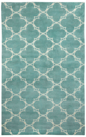 Capel Yale 1931 Pale Blue Cream 400 Area Rug by COCOCOZY Rugs main image