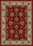Radici Vesuvio 1691 Red Machine Woven Area Rug
