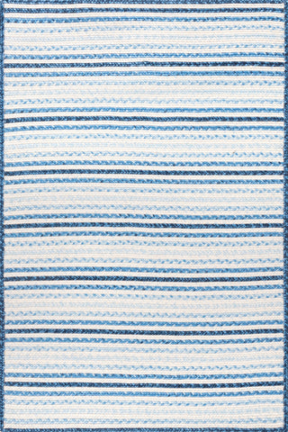 nuLOOM Braided Pinstripes Lucinda Rug Blue Area main image