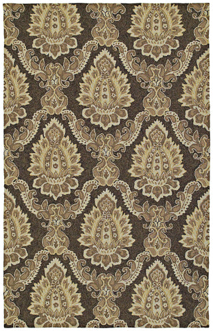 Kaleen Home and Porch Cedar Hamock-15 Brown Area Rug main image