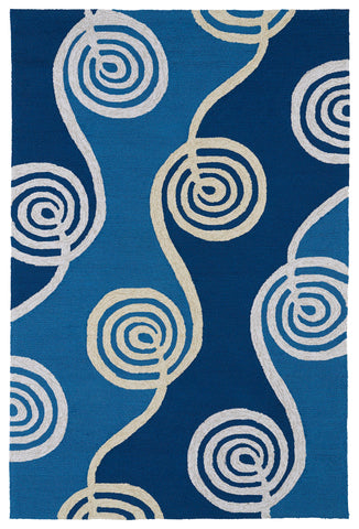 Kaleen Home and Porch 2031-17 Blue Area Rug main image